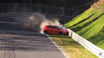 Ford Fiesta ST Crash