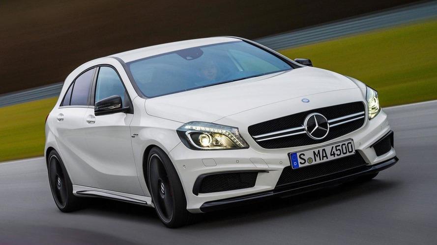 Mercedes-Benz A45 AMG revealed