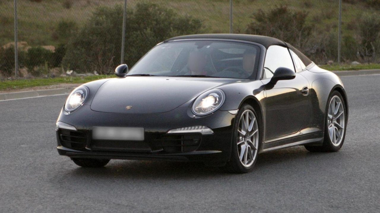 2013 Porsche 911 Targa spy photo 05.12.2012 / Automedia