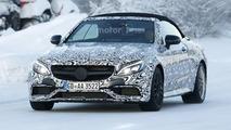 Mercedes-AMG C63 Convertible spy photo