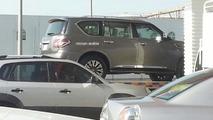 2014 Nissan Patrol facelift spied undisguised