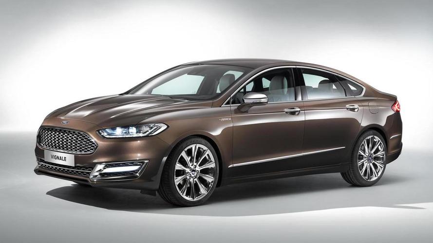 ford mondeo vignale concept previews premium trim due 2015 for