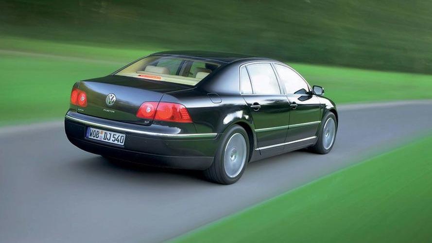 Volkswagen Phaeton moving ahead