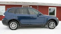 BMW X3 facelift spy photos