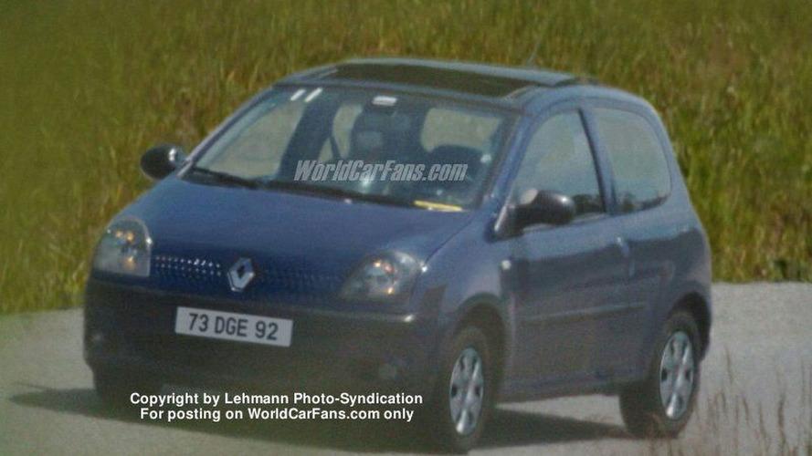 Renault Twingo Spy Photo