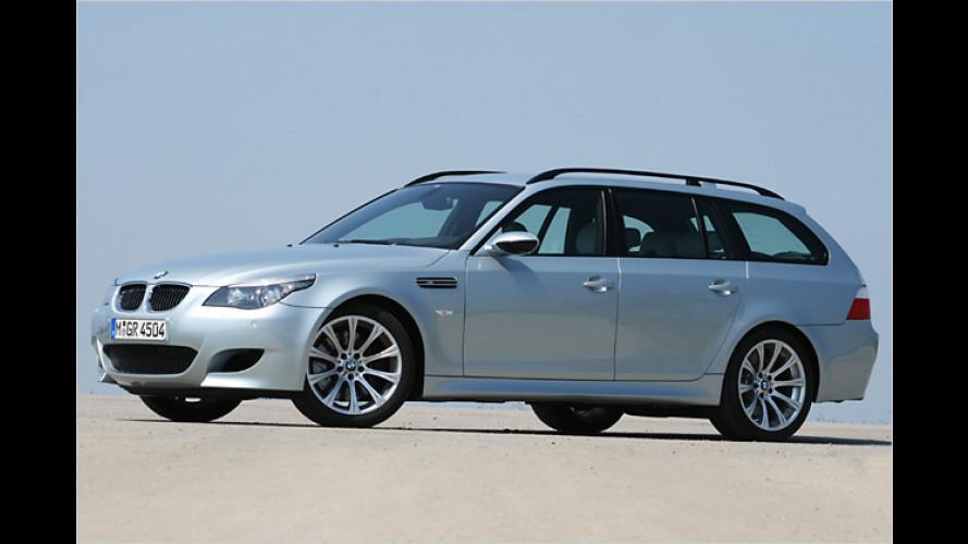 Mehr Power für den Kombi: Der BMW M5 Touring im Test