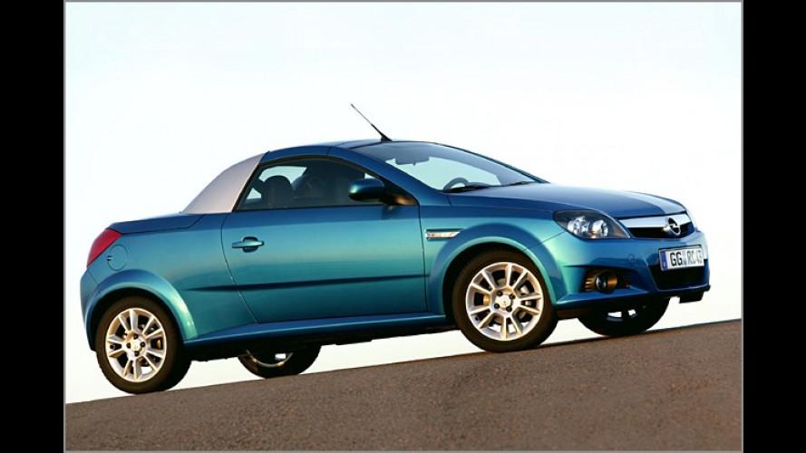 Opel Tigra TwinTop: Jetzt mit Common-Rail-Turbodiesel