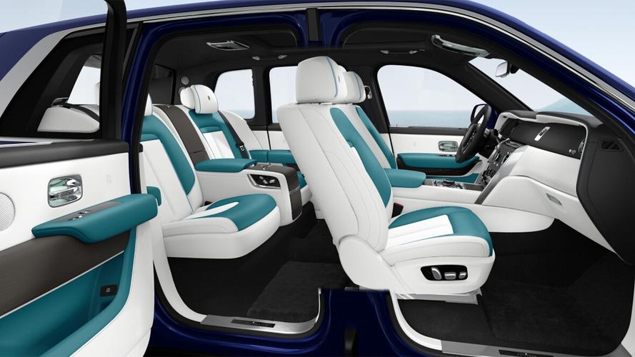 Rolls-Royce Cullinan, sul configuratore gli accessori più folli