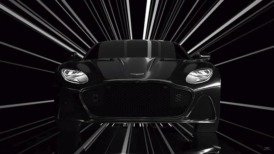 Aston Martin DBS Superleggera makes an artistic film debut