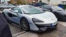 Possible McLaren 600 LT spy photo