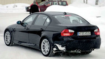 SPY PHOTOS: More BMW M3 Saloon