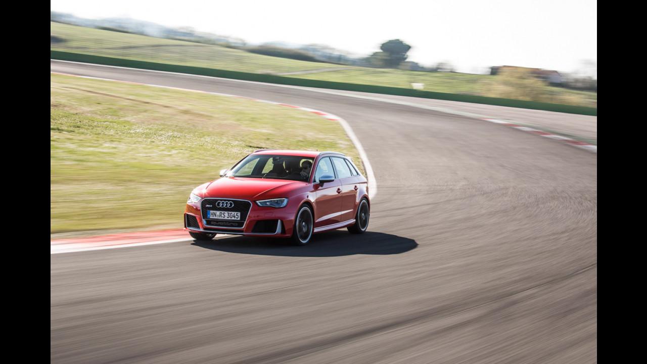 Nuova Audi RS3 Sportback