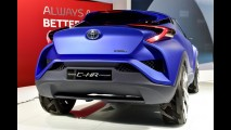 Futurista, Toyota C-HR Concept pode dar origem a SUV compacto - veja fotos