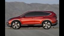 Fotos oficiais: Honda revela por completo o Novo CR-V 2012