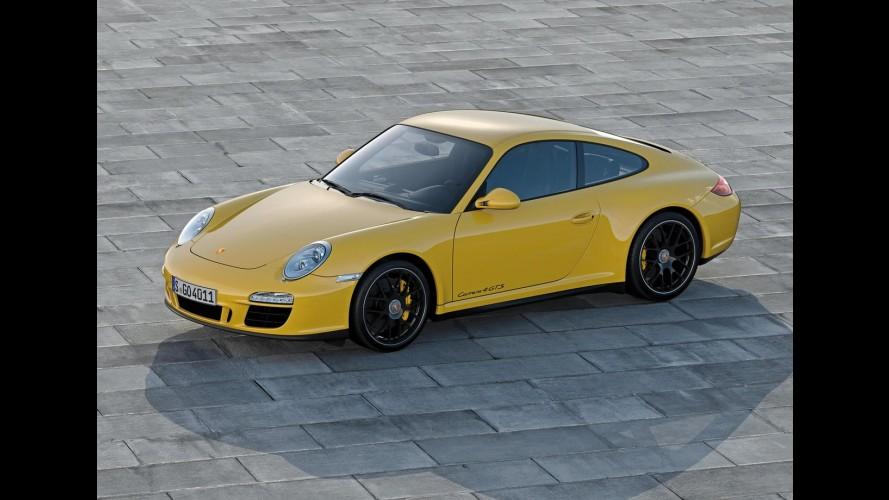 Porsche revela o 911 Carrera 4 GTS 2012