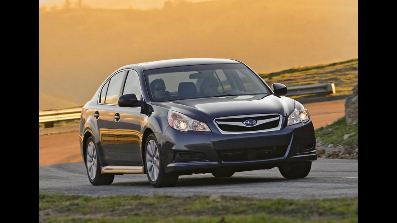 Subaru pode estar trabalhando em um novo crossover de sete lugares