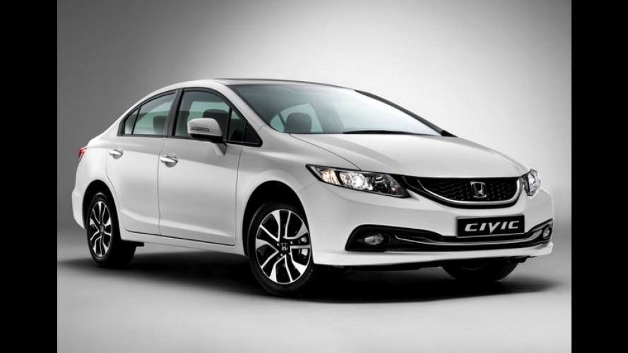 Honda Civic Sedan ganha novo visual na Europa