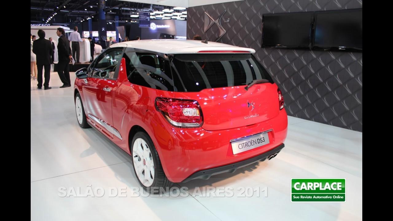 Salão de Buenos Aires: Novo Citroën DS3