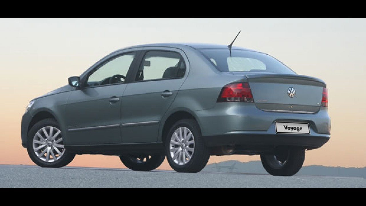 Volkswagen Voyage será o novo