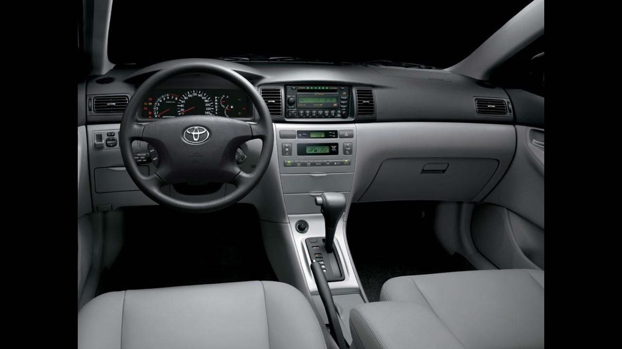Recall global da Toyota afeta 29.864 unidades do Corolla no Brasil