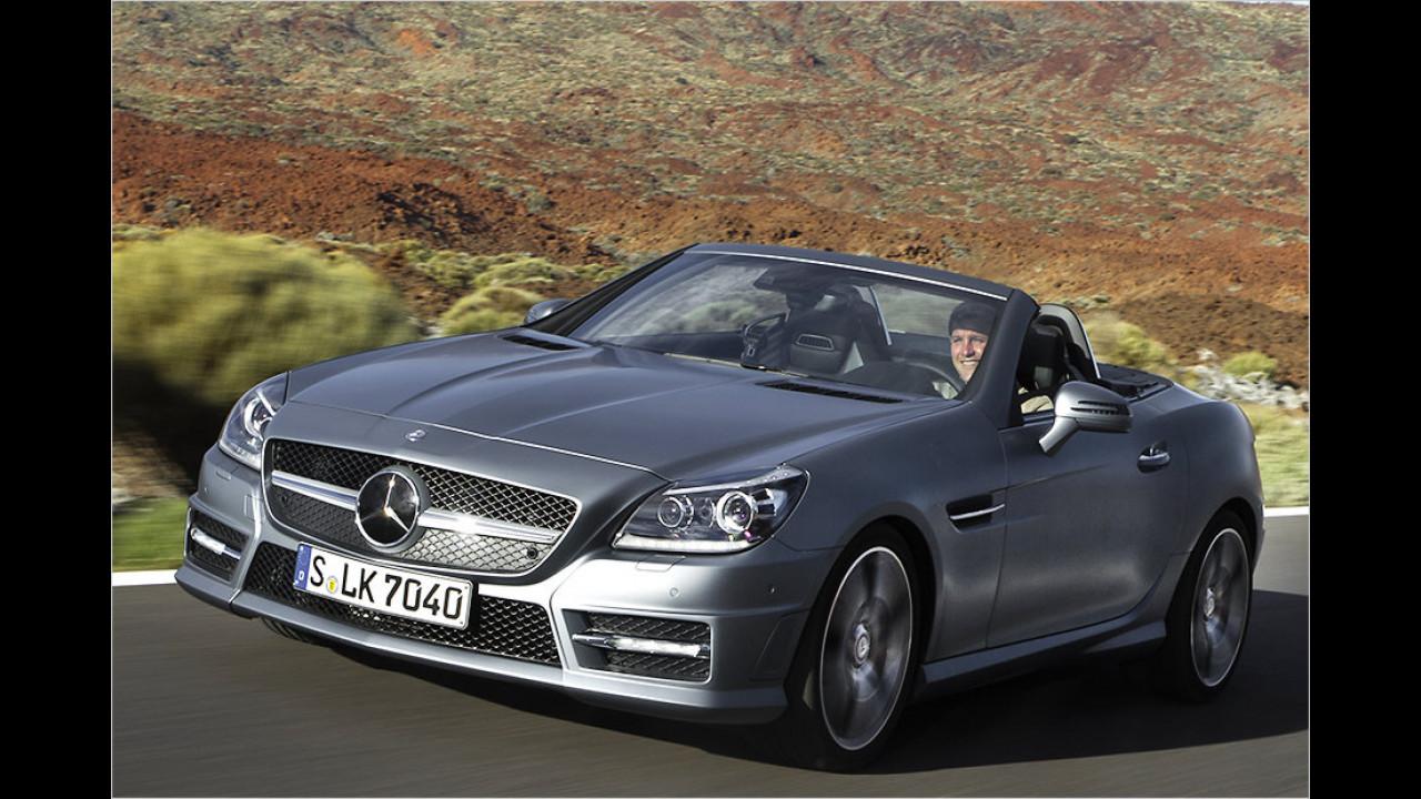 Platz 2: Mercedes SLK