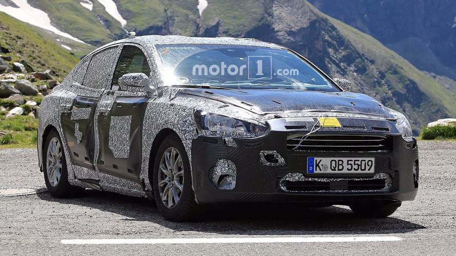 Next Ford Focus Sedan Spied For First Time