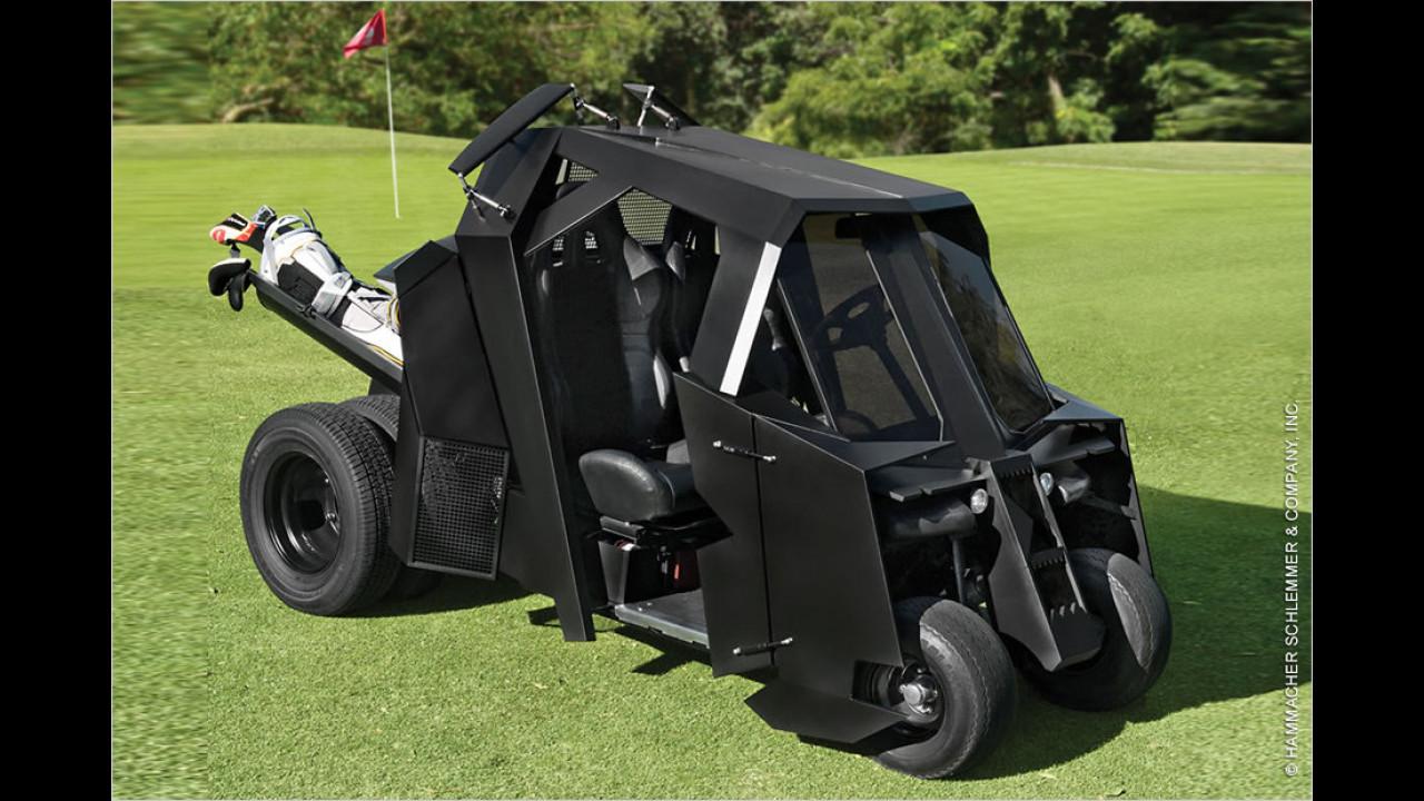 Das Gotham-Golf-Kart ist da