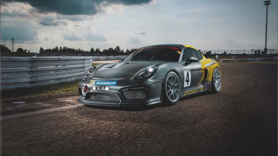 La Porsche Cayman GT4 par Manthey-Racing