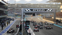 2012 Abu Dhabi Grand Prix - RESULTS