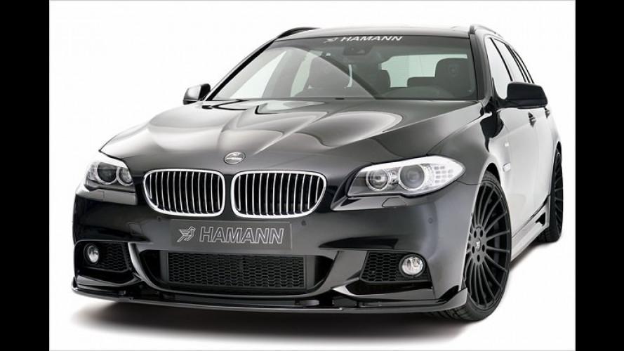 BMW 5er Touring von Hamann: Kombi im sportlichen Outfit