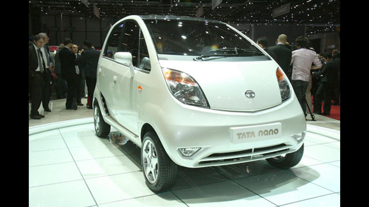 Das Billigauto vom Subkontinent: Tata präsentiert in Genf seinen ultrakompakten Preisbrecher namens Nano