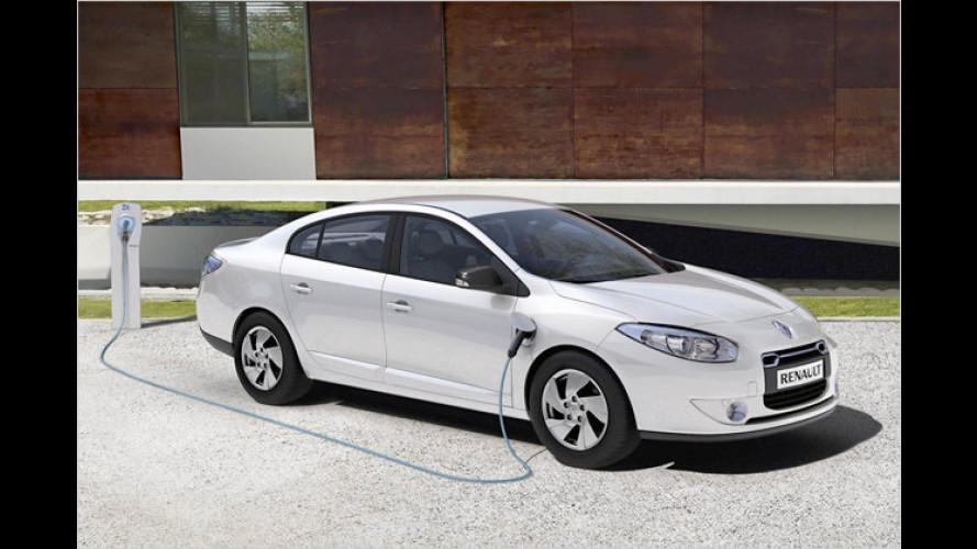 Renault zeigt Serienversionen von Elektroautos