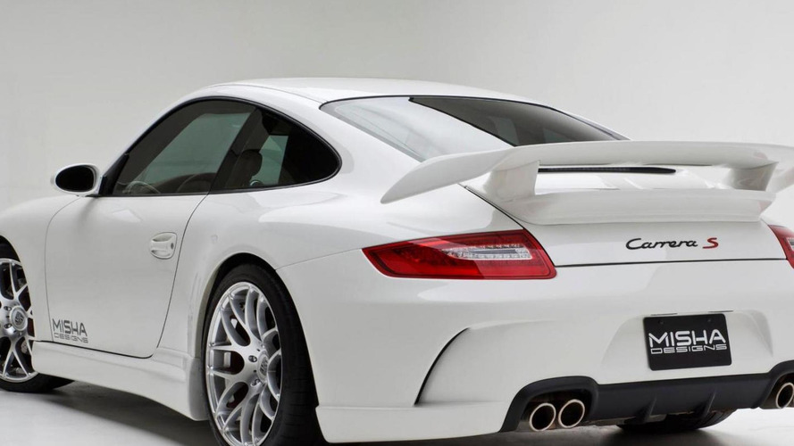 Porsche 911 (997) gets custom body kit from Misha Designs