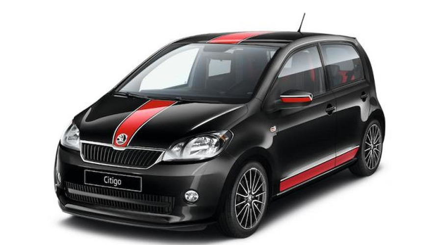 skoda citigo sport announced. Black Bedroom Furniture Sets. Home Design Ideas