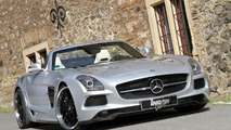 Mercedes SLS AMG Borrasca Roadster introduced by INDEN Design