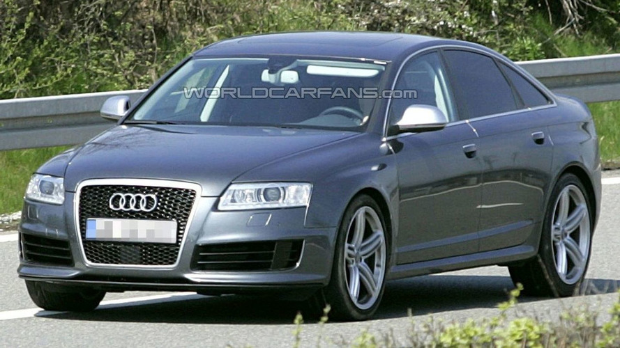 Audi RS6 Sedan Spied