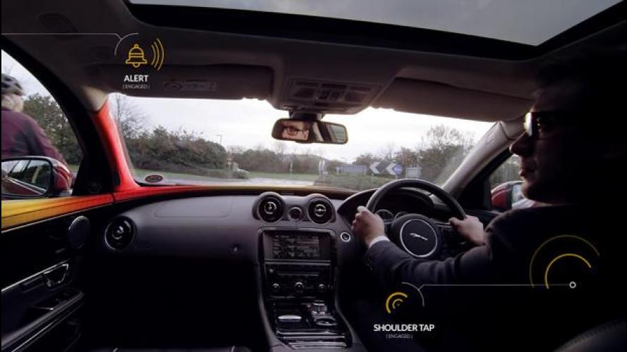 Ciclisti al sicuro, anche Jaguar Land Rover ha il suo