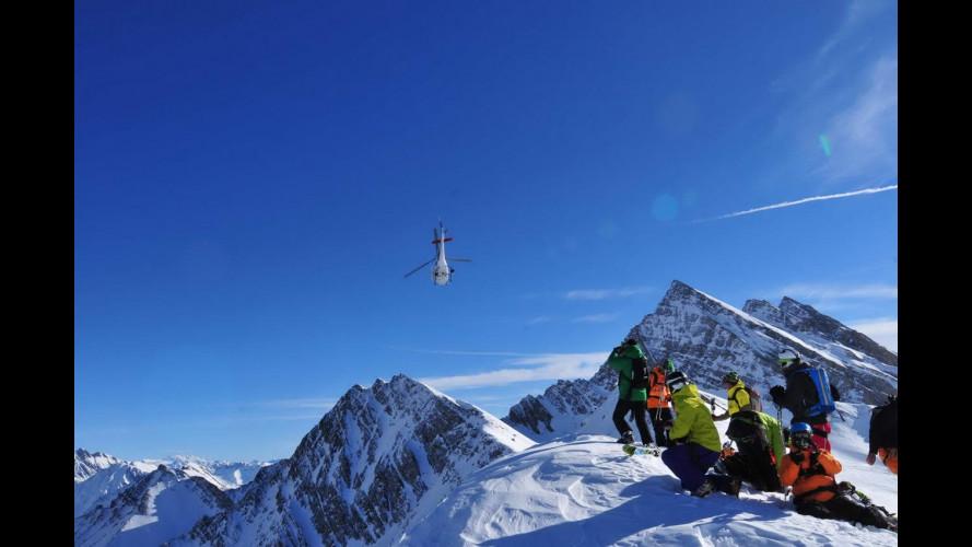 L'heliski, il brivido di lanciarsi da un elicottero con gli sci ai piedi