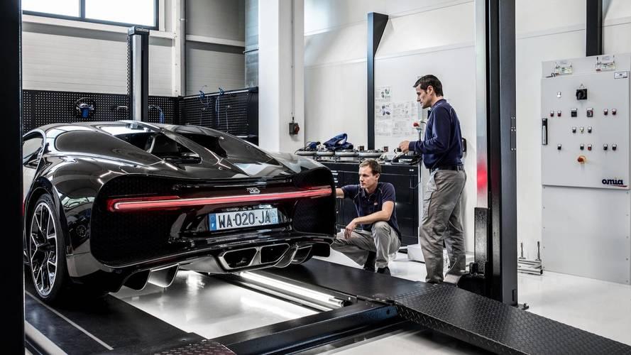 Bugatti Chiron, con la telemetria parla alla centrale
