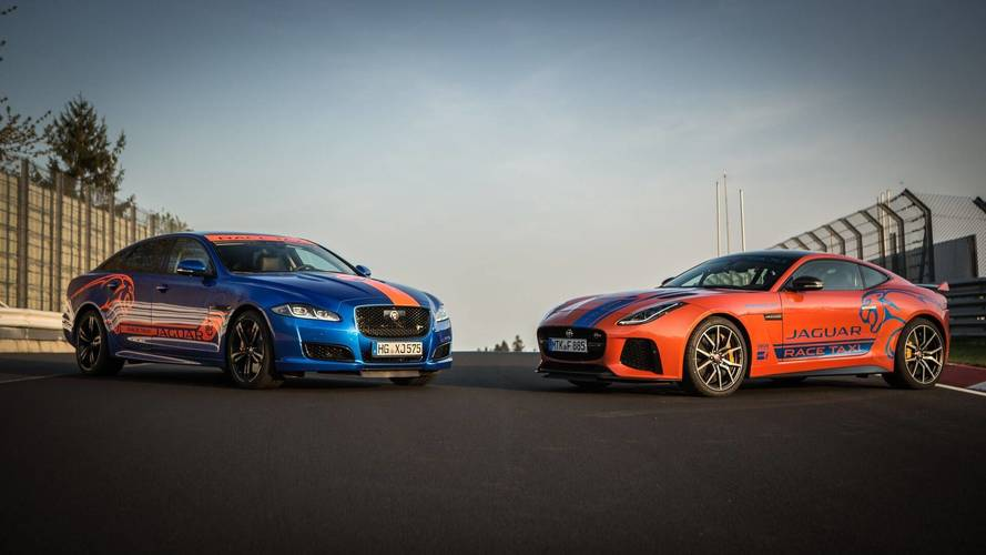 Taxi! Jaguar F-Type SVR, XJR575 Nurburgring Cabs Revealed