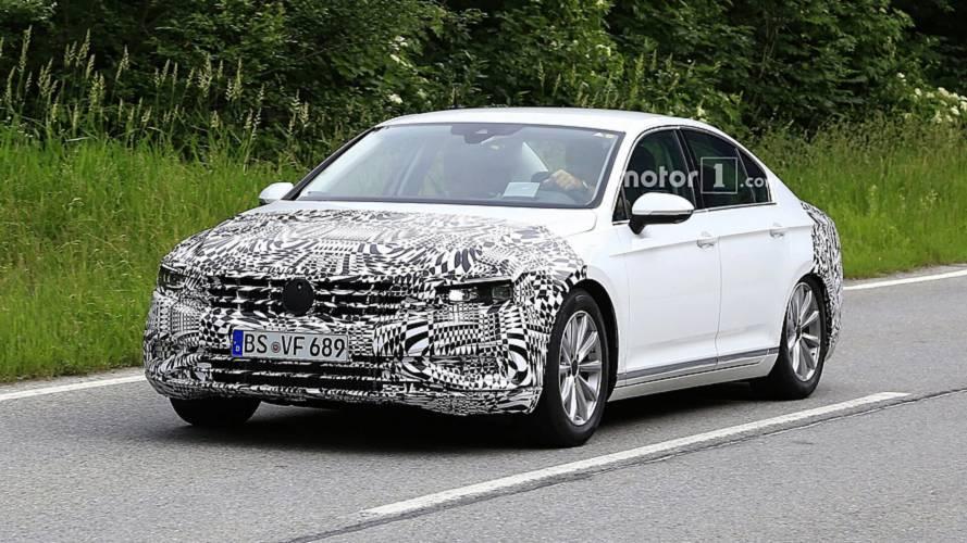 Première apparition de la Volkswagen Passat restylée