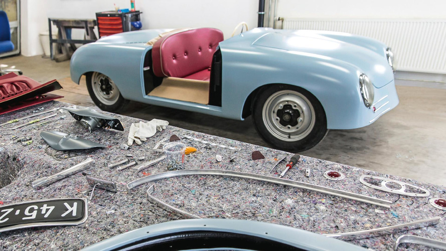 Porsche Builds Near-Exact Replica Of Its First Car, 356 Number One