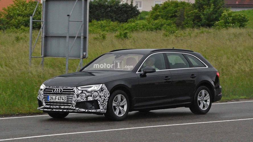Audi A4 Refresh Spy Shots