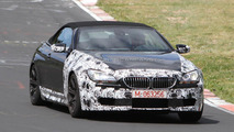 2012 BMW M6 Cabrio spied less camo 19.05.2011