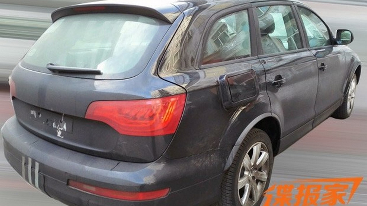 VW CrossBlue spy photo
