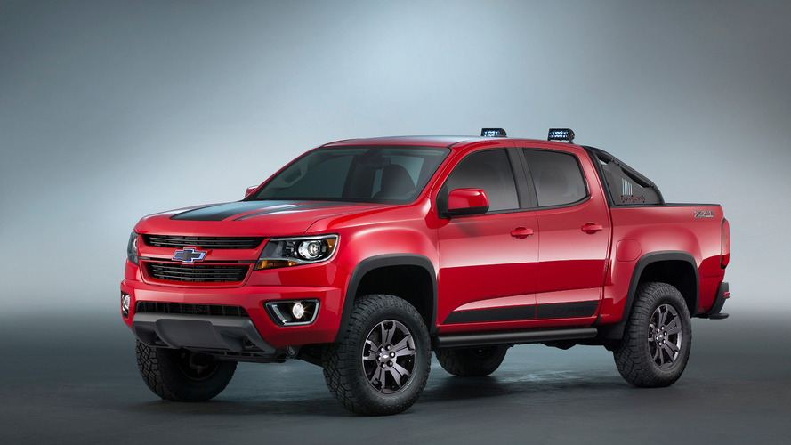 Chevrolet Colorado Z71 Trail Boss 3.0 concept unveiled at SEMA