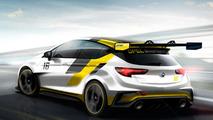Opel Astra TCR race car