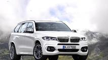 2017/2018 BMW X7 render