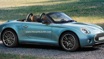 MINI Superleggera production version rendered