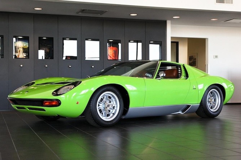 For Sale: 1969 Minty Green Lamborghini Miura SV